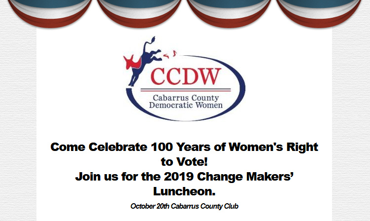 2019 Change Makers' Luncheon – Celebrating 100 Years: The Power to Vote